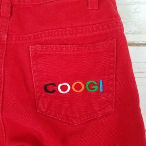 Coogi Childrens Size 5 Pants Red Cotton Jean Style